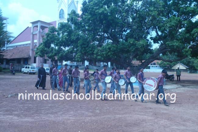 Nirmala English Medium School, Brahmavar - Installation of